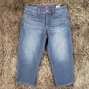 NYDJ Ariel Crop Jeans Capri Pants